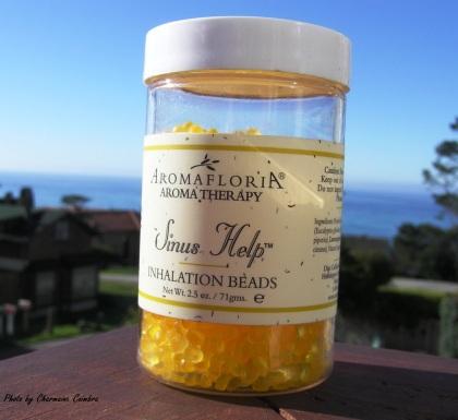 "Microplastics in ""health"" product.  C. Coimbra photo"