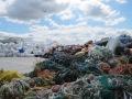 Marine debris collected of the coast of Alaska and British Columbia. NOAA photo